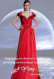 Gallakjoler og festkjoler fra www.jyang.no Vi har ferdig kjoler og vi skreddersy din drømmekjole Tlf. 22423000