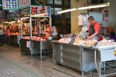 Kylling og høns bod i Pulimarked