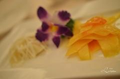 Vår 8 rettes middag på 5 stjernes restaurant - Mango og bambuskudd