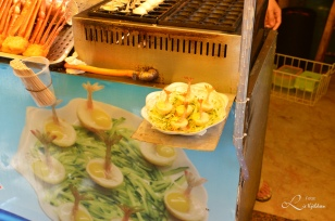 sjømat snack i Gulangyu