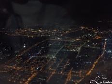 Fra fly over Xiamen, Kina