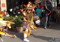 Religiøs seremoni i Kaohsiung city