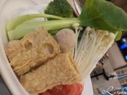 Fersk grønnsaker til fondu
