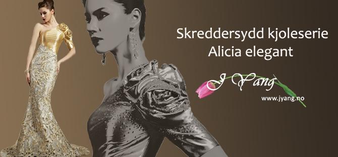 Annonse:  Vi selger og skreddersy brudekjoler, ballkjoler og dresser.  Butikk i Oslo. Tlf. 22423000