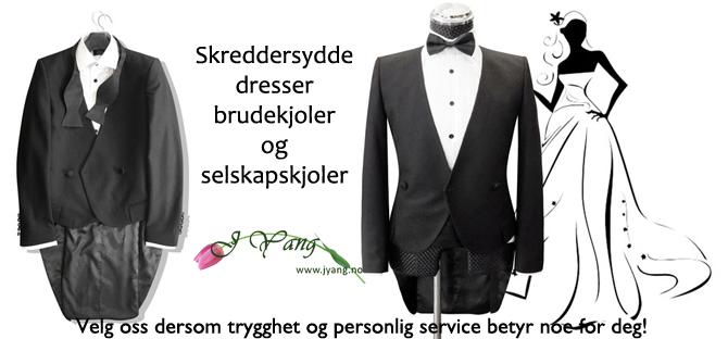 Annonse: Brudebutikk i Oslo. Skreddersydd service. Tlf. 22423000