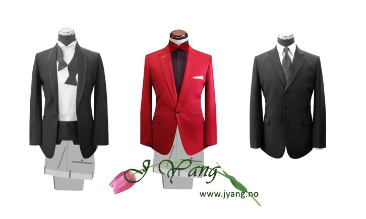 Reklame: Skreddersydde dresser og drakter. Brudekjoler og ballkjoler www.jyang.no Tlf. 22423000
