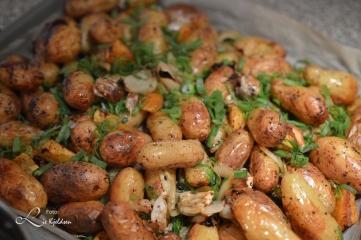 Grill poteter og søtpoteter