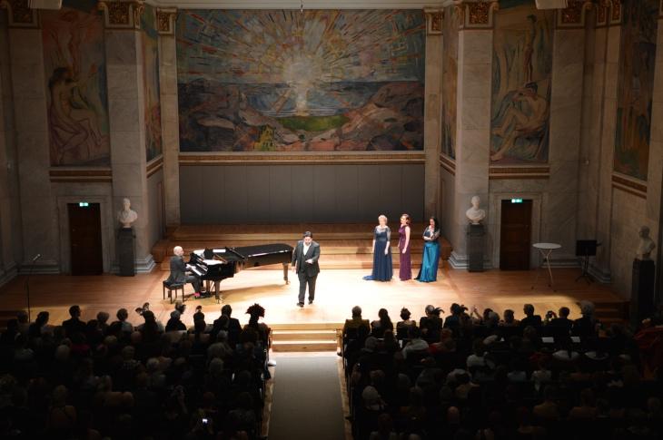 Operakonsert i Operaballet 2015