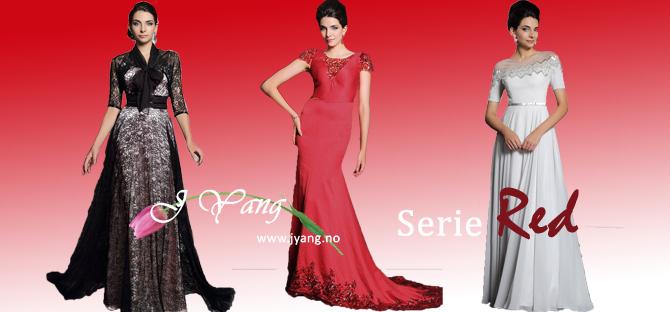 Reklame: Vår nye kjoleserie Red Mange kjoler med lang ermede bolero! www.jyang.no Tlf. 22423000