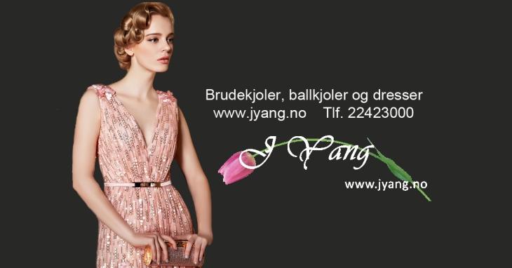 Annonse: Ballkjoler og selskapskjoler fra www.jyang.no Skreddersydd service Tlf. 22423000