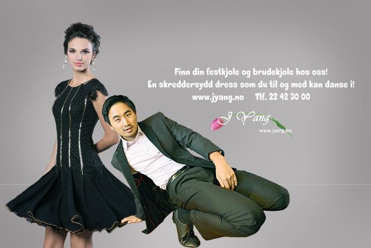 Annonse: Brudekjoler, ballkjoler og dresser. Skredder service www.jyang.no Tlf. 22423000