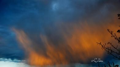 himmel i flammer