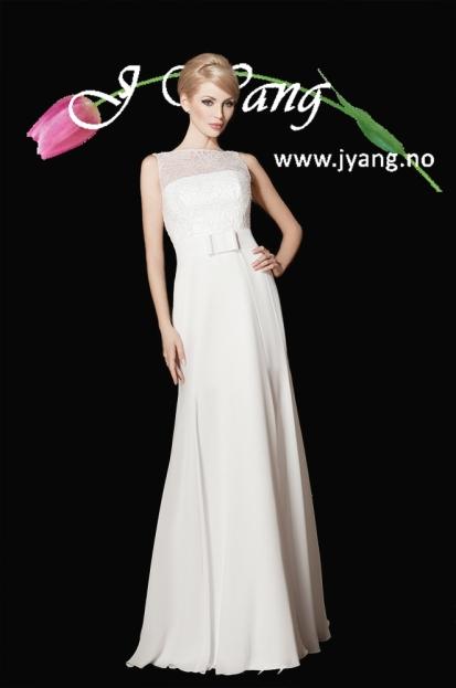 Annonse: Brudekjole Ilex fra www.jyang.no Tlf. 22423000