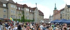 Folkemengde - Gatematfest på St. Hanshaugen