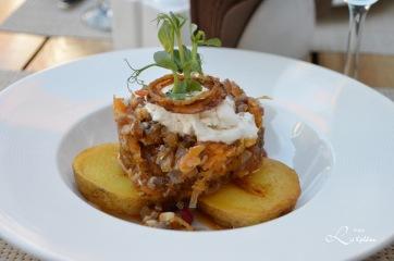 Tradisjonsmiddag i Riga - Griseører med poteter