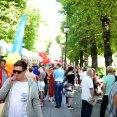 Pride Oslo 2016 - Pride park i Karl Johan