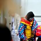 Han setter farger på Philippines dag på Youngstorget 2016