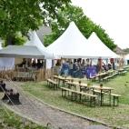 Oslo middelalderfestival - hoved telt v/Karpedammen