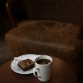 På kafe