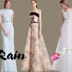 Annonse: Selskapskjole og ballkjole serie Rain www.jyang.no T. 22423000