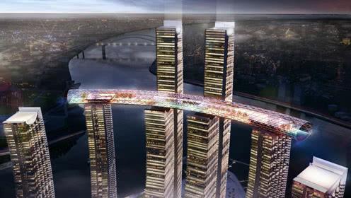 重庆300米横着建的摩天大楼 6