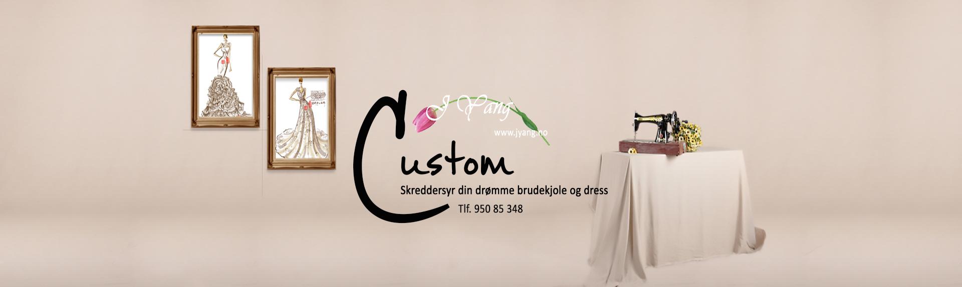 skreddersy brudekjole og dress j Yang skredder Lie Kjeldsen